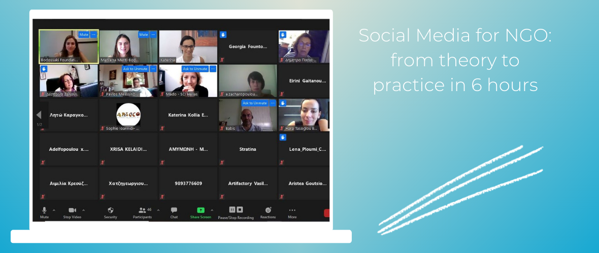 Social Media for NGO_ from theory to practice in 6 hours