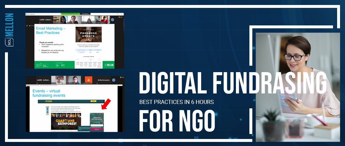 webinar about digital fundraising for NGOs by Social Mellon
